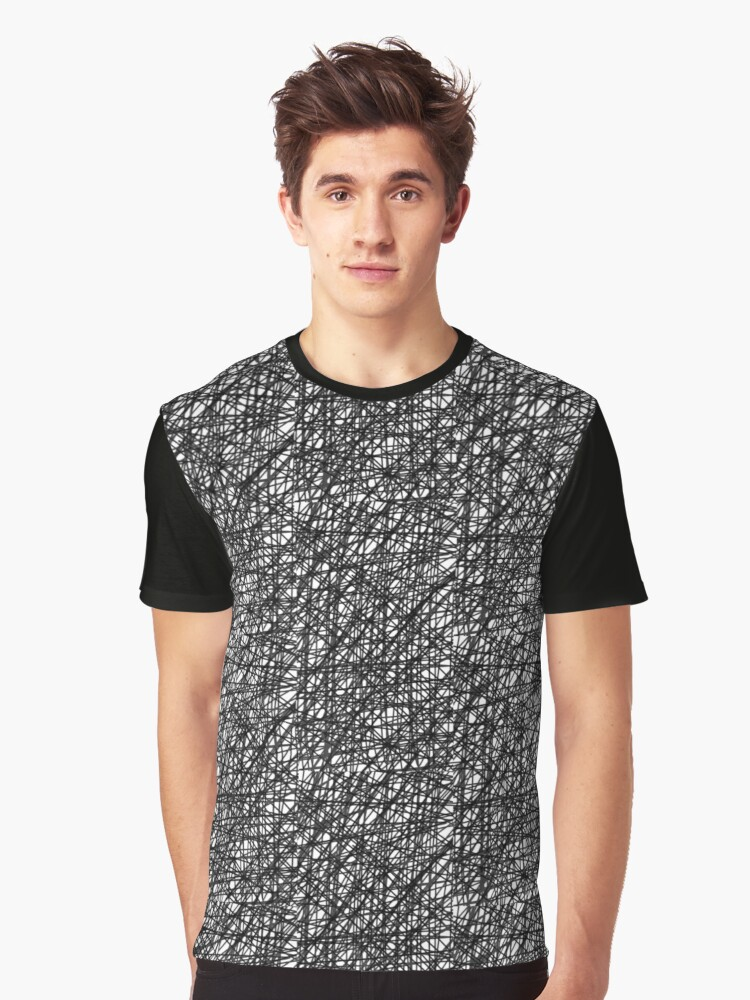 Scribbles Graphic T-Shirt Front