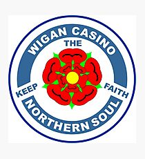 Northern Soul Wigan Casino Keep the Faith  Photographic Print