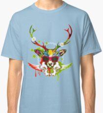 funny deer by remsoun Classic T-Shirt