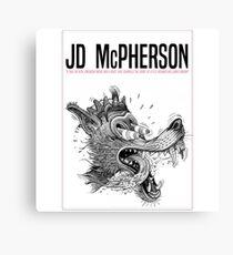 JD McPHERSON Tour Dates 2017 Canvas Print