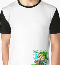 Link and Navi Graphic T-Shirt