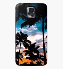 Palmen Sommertraum Hülle & Skin für Samsung Galaxy
