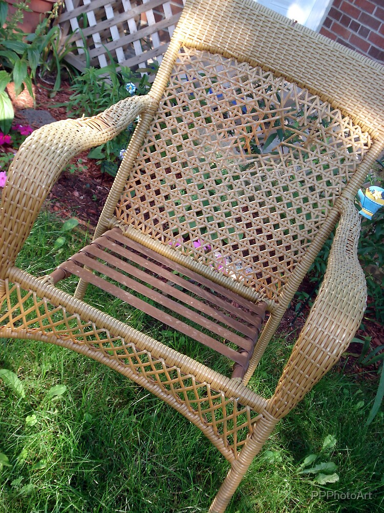 Garden Chair by PPPhotoArt
