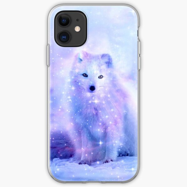 Arctic Iceland Fox iPhone Soft Case