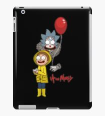 IT and Morty iPad Case/Skin