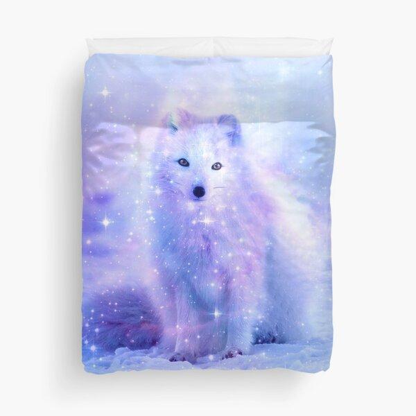 Arctic Iceland Fox Duvet Cover