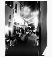 Nîmes Nightlife Poster
