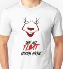 The IT - Pennywise Clown (We All Float) T-Shirt