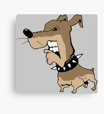 Angry Grrr Dog Canvas Print