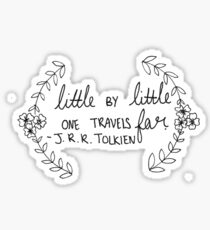 J.R.R. Tolkien Quote  Sticker