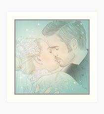 Husband and wife Art Print