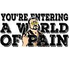 Dein Eintritt in eine Welt des Schmerzes - Walter Sobtschak - der große Lebowski von American  Artist