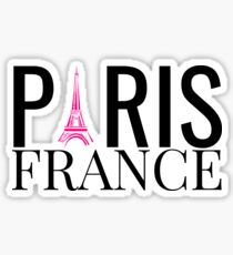 Paris France, Eiffel Tower Sticker