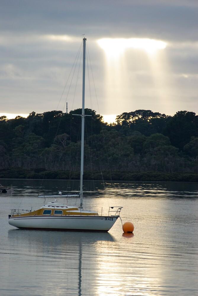 Sunrise,Hastings,Vic by Peter Rowley