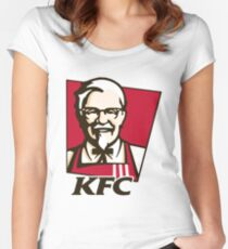 KFC Women's Fitted Scoop T-Shirt