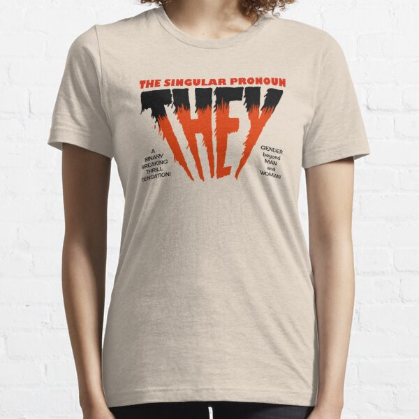 THEY Horror Shirt (light) Essential T-Shirt