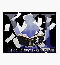 THE CLOAKED SCHEMER Photographic Print