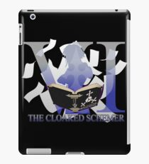 THE CLOAKED SCHEMER iPad Case/Skin