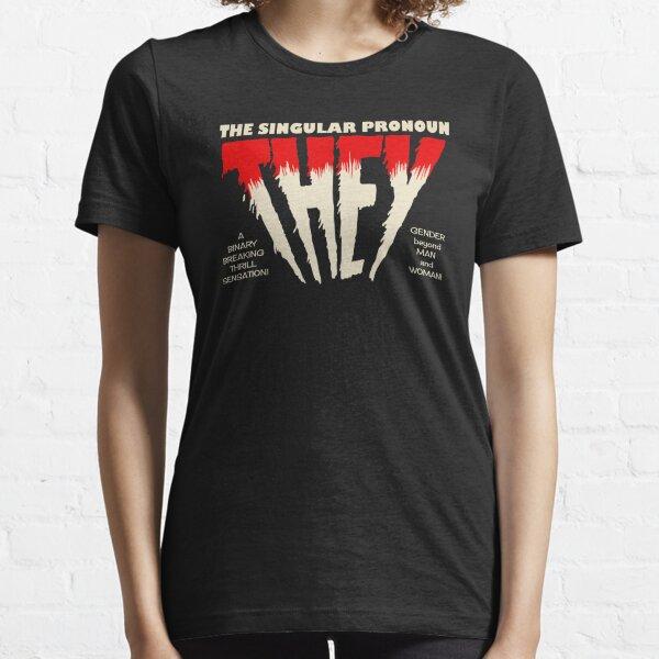 THEY Horror Shirt (dark) Essential T-Shirt
