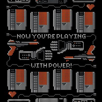Now You're Playing With Power! T-Shirt by Brandon89