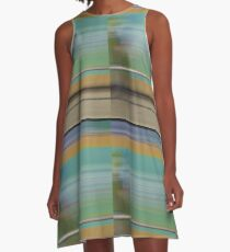 Blurred Lines no.1 A-Line Dress