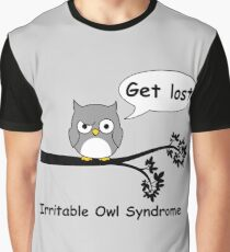 Irritable Owl syndrome Graphic T-Shirt