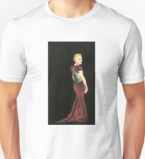 Gillian Anderson Original Painting 2017 Emmys T-Shirt
