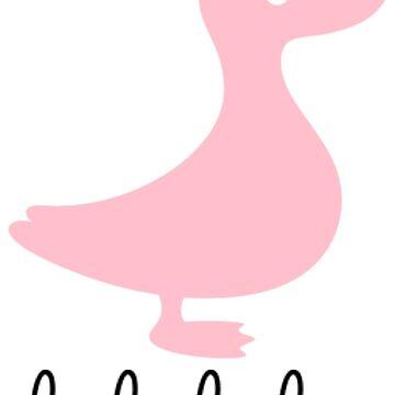 lalalala Duck by 1dfansgive