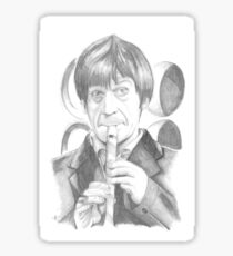 Second Doctor - Classic Who Sticker