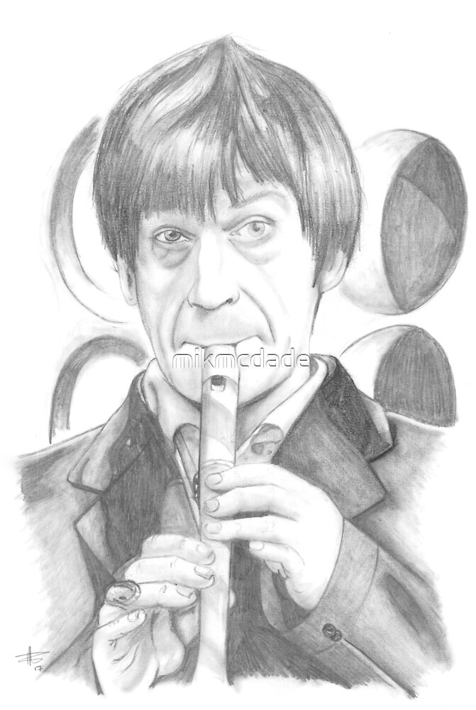 Second Doctor - Classic Who by mikmcdade