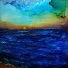 Sunset Seacape #1 by Jennifer Lex Wojnar