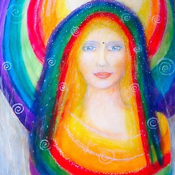 Rainbow Madonna by Lilaviolet