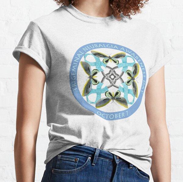Trigeminus-Neuralgie-Bewusstseins-Tag Classic T-Shirt