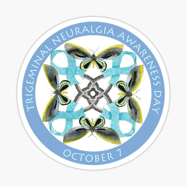 Trigeminal Neuralgia Awareness Day Sticker