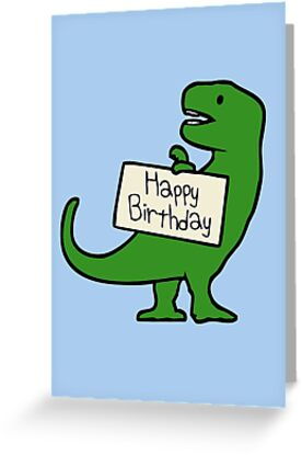 Happy Birthday T Rex