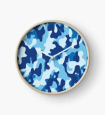 Water Camouflage Clock