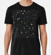 Hubble, COSMOS, Nasa, extremes tiefes Feldbild, Raum, Konstellation, Fornax Premium T-Shirt