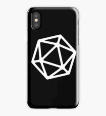 Simple D20 iPhone Case/Skin