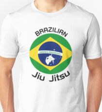 Brazilian Jiu Jitsu (BJJ) flag Fighters Gift T-Shirt