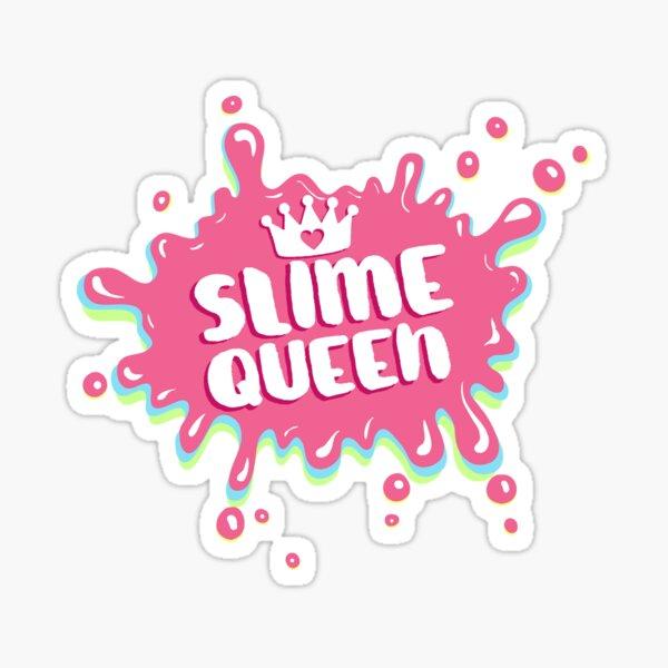 Slime Queen Splatter Sticker