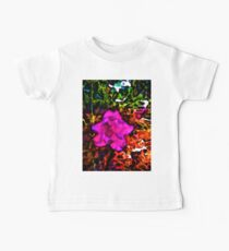 Pink and Purple Flower with some Orange and Green Kids Clothes