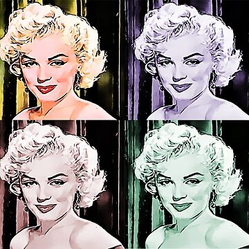 Original Print Marilyn Monroe Graphic by DeepDenn