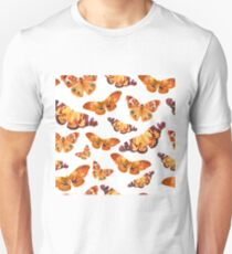 Watercolor pattern with butterflies T-Shirt