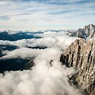 Below us only sky by Marcel Ilie