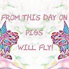 Ham-fisted Aeronauts Greeting Card by patjila