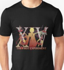 THE FIRST EXPERIMENT Unisex T-Shirt