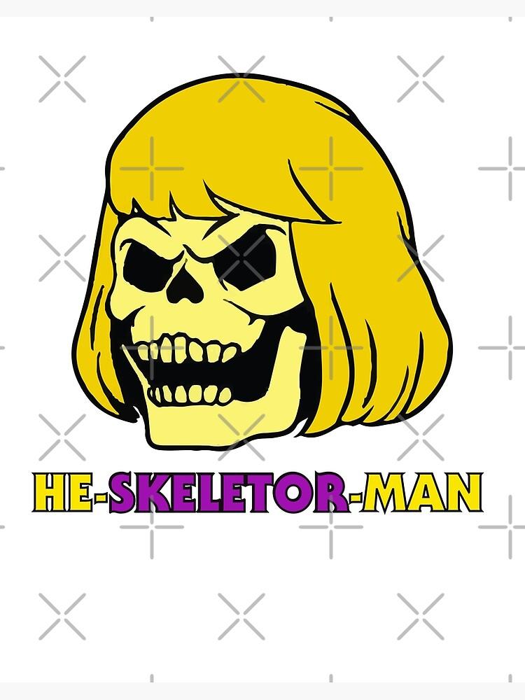 He Man T-Shirt Jaws Gym MYAHS Mens Funny Parody Skeletor 80/'s Movie Film Top