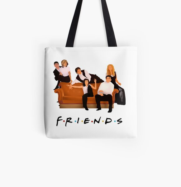 Friendship All Over Print Tote Bag