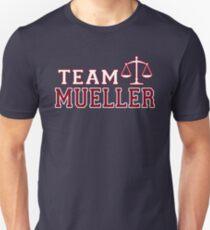 Team Mueller - Justice Scales Unisex T-Shirt