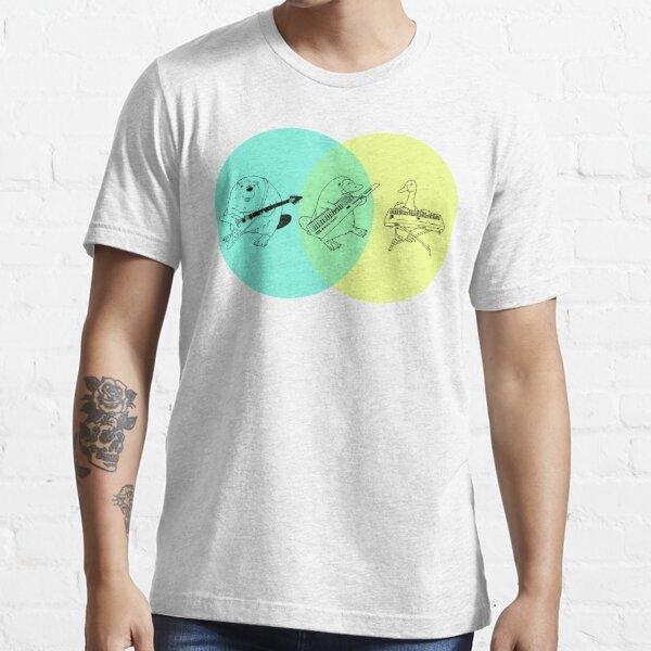 Keytar Platypus Venn Diagram 2 Essential T-Shirt
